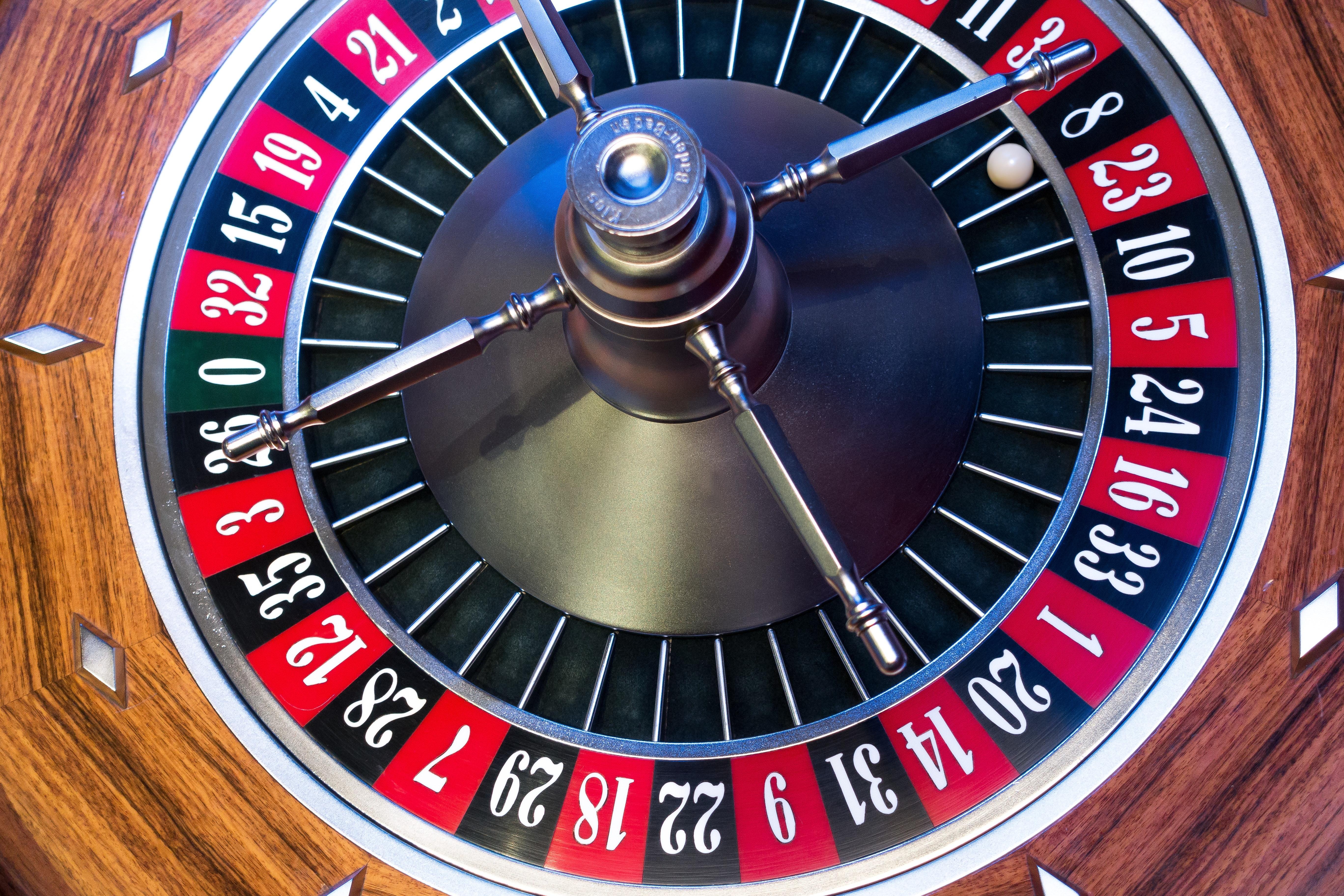 Gry hazardowe. Jackpot.