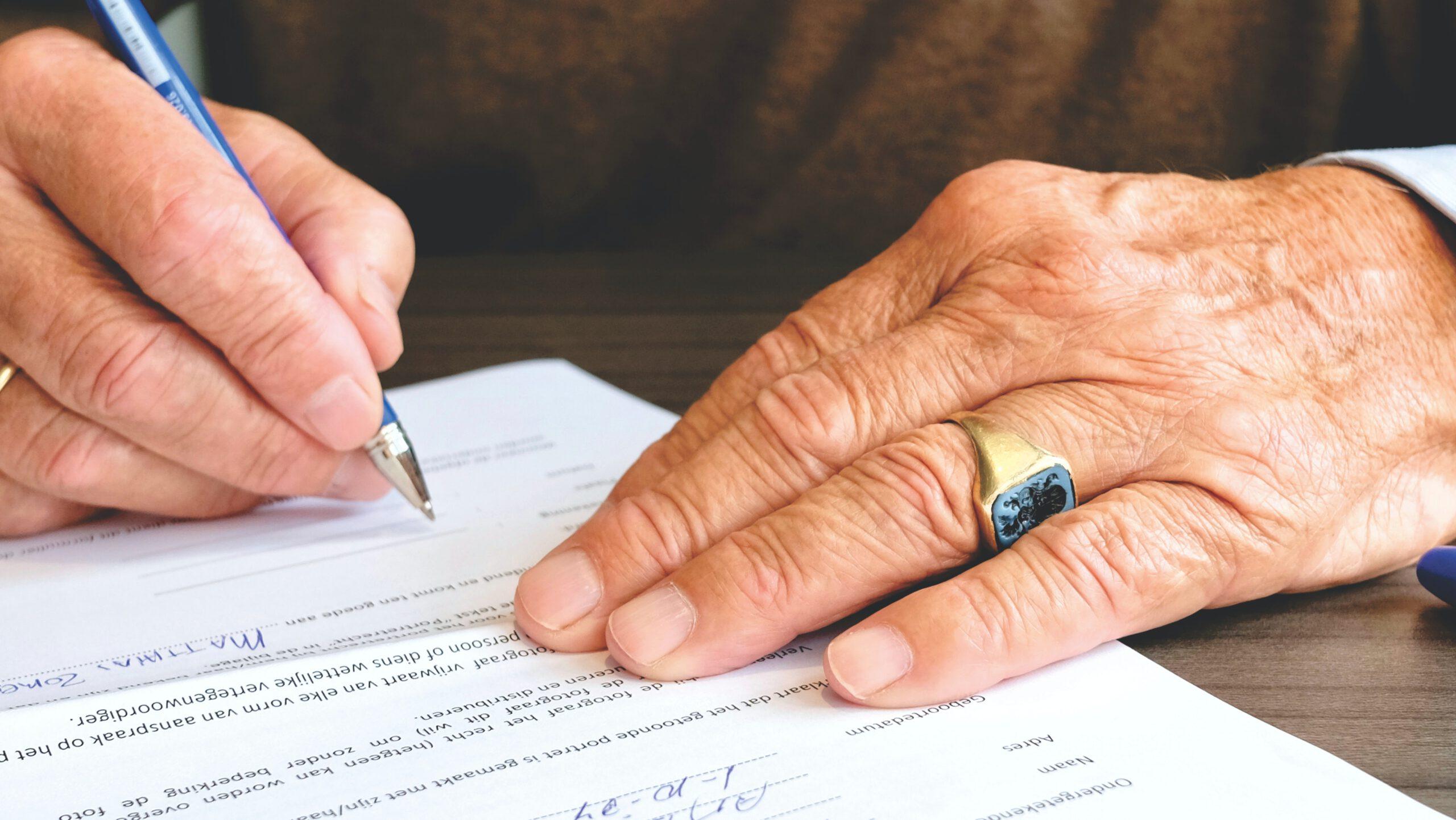 W jaki sposób podważyć testament?